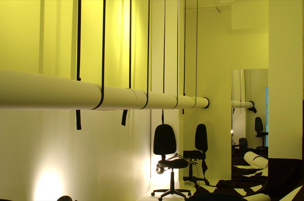 exposition à La Galerie, Noisy le sec, 2006