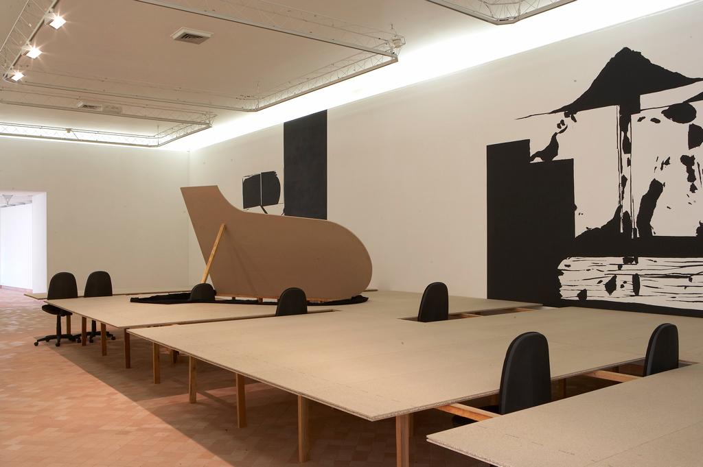 Du vent dans les cordes, Centre d'art contemporain, Cajarc, 2006