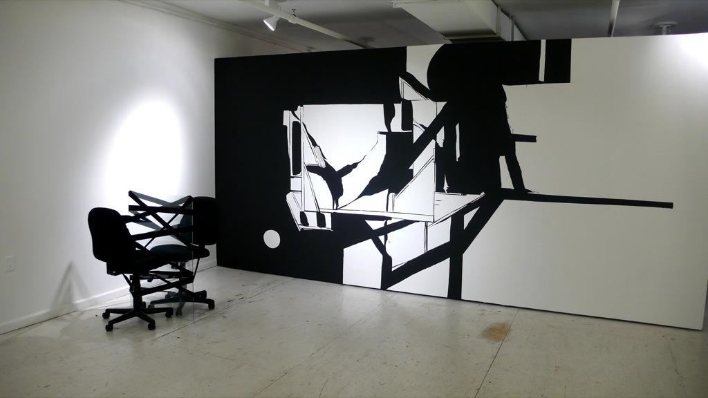 Dark side of the mood, Envoy gallery, New York, 2008