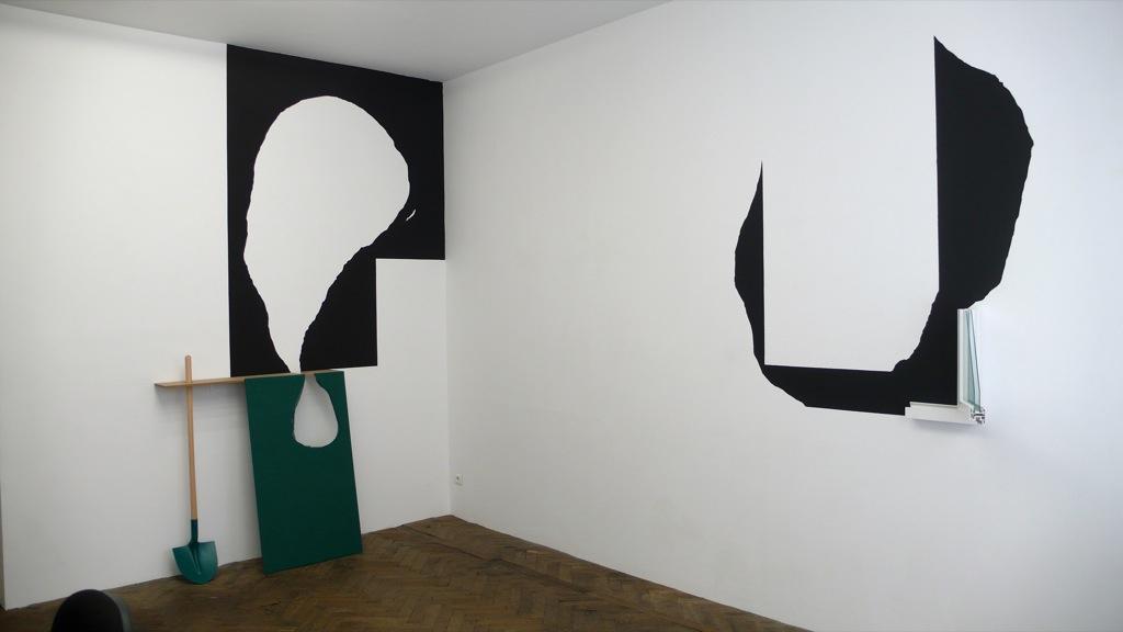 Fenêtre et Sablier et Fenêtre, exposition