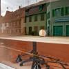 Schaufenster, Tout le tremblement, Sélest'Art, 19ème Biennale d'art contemporain de Sélestat, fenêtres du magasin, 2011 ©F.Tiedje