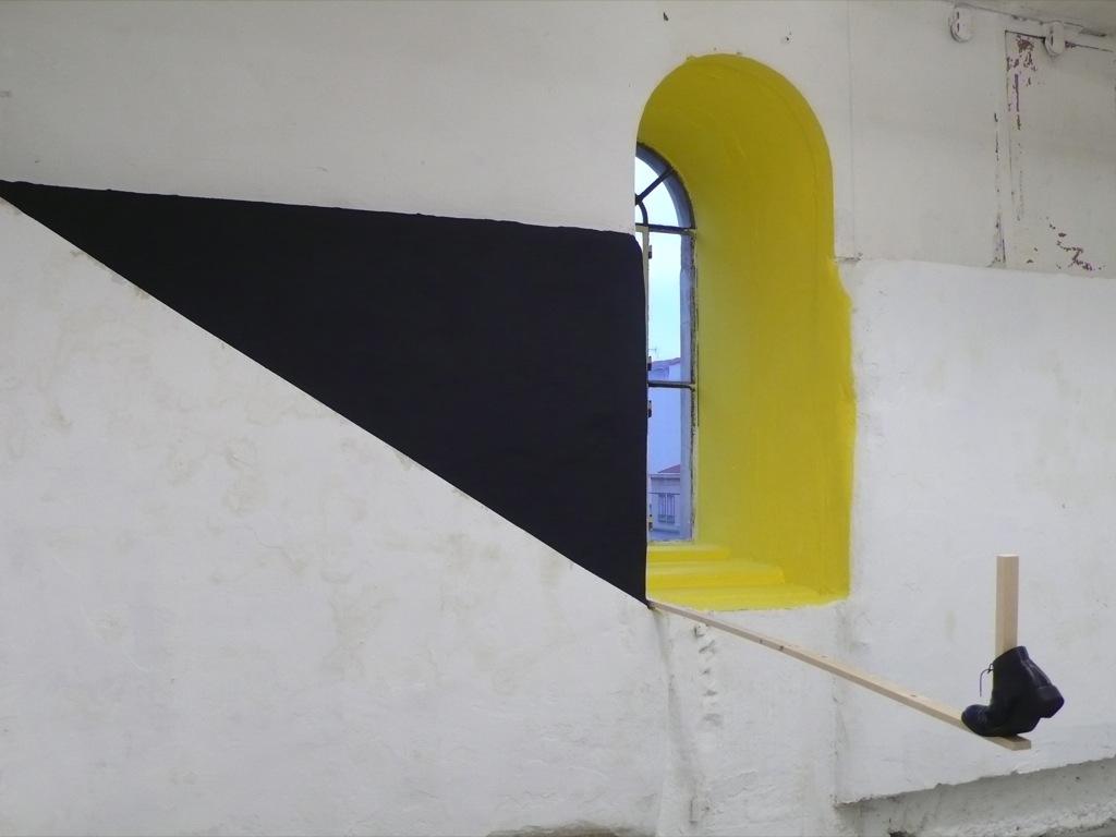 Ravalé-Étiré, Exposition 4 brassées, Association Greenhouse, Saint-Étienne, 2012