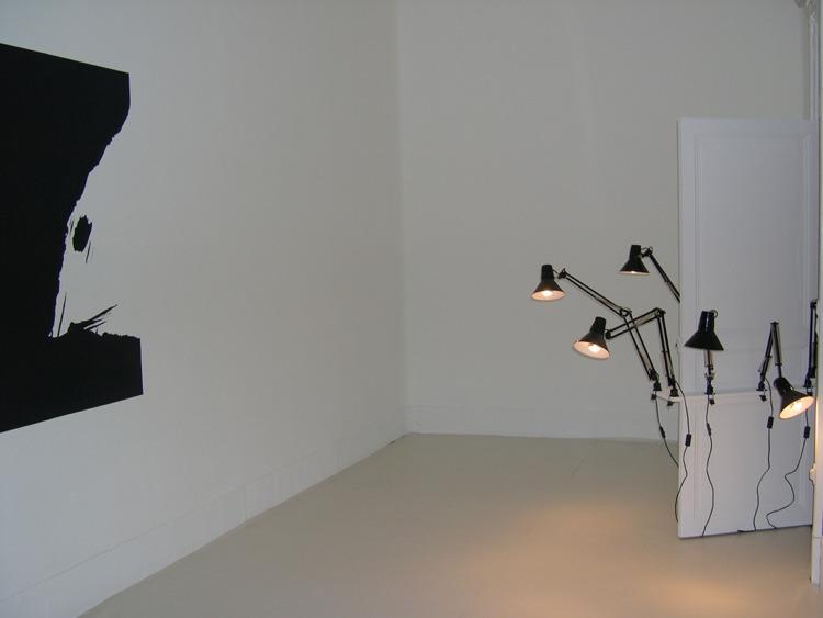 kkk+lampes, White spirit, La Station, Nice, 2005
